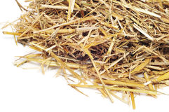 A pile of straw Stock Photos