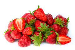 Pile of strawberries Royalty Free Stock Photo