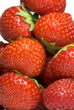 Pile of strawberries. Pile of the ripe strawberries Stock Photos