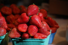 Pile of Strawberries Royalty Free Stock Photography