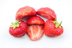 A pile of strawberries Stock Images