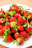 Pile strawberry Royalty Free Stock Photography