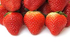 A pile of strawberry Royalty Free Stock Photo