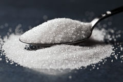 Pile of sugar royalty free stock photos