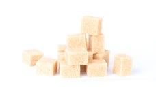A pile of sugar cubes Stock Photos