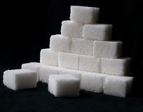 Pile of sugar Stock Photography