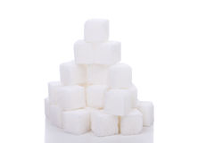 Pile of sugar Stock Image