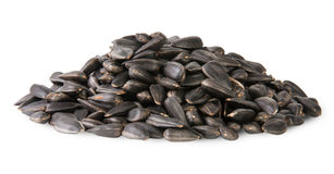 Pile Of Sunflower Seeds Stock Photography