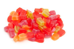 Pile of sweet colorful candy Stock Photos