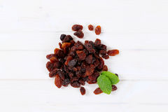 Pile of sweet raisins Royalty Free Stock Photo