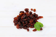 Pile of sweet raisins Royalty Free Stock Photos