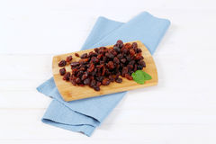 Pile of sweet raisins Stock Photo