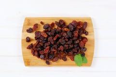 Pile of sweet raisins Stock Image