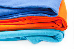 Pile of T-shirt Stock Photography