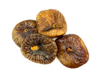Pile of tasty dried figs Royalty Free Stock Photography