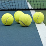 Pile of tennis ball Stock Images