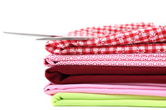 Pile of Textile Royalty Free Stock Photography