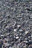 Pile texturisée de charbon Photos libres de droits