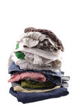 Pile of things. A heap of things Royalty Free Stock Image