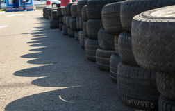 Pile of tires Royalty Free Stock Image