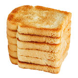 Pile of toasts Stock Photography
