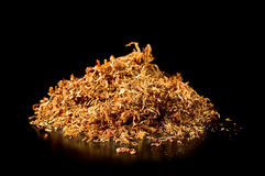 Pile of tobacco Stock Images