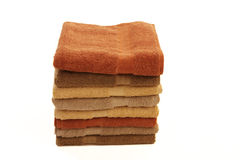 Pile of towels Stock Photo
