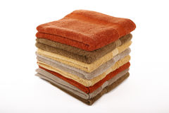 Pile of towels Stock Photography