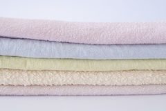 Pile of towels Royalty Free Stock Image