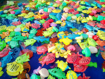 pile of toy fish Stock Images