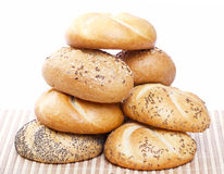 Pile of traditional bread Stock Photo