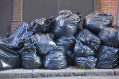 Pile of Trash Bags Royalty Free Stock Photos