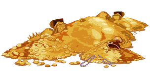 Pile Treasure Royalty Free Stock Photo