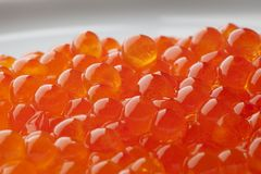 A pile of Trout caviar Royalty Free Stock Photo