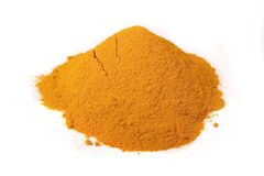 Pile of turmeric Stock Images