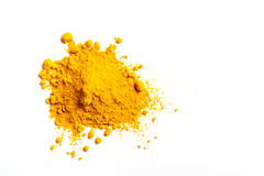 Pile of Turmeric Powder royalty free stock photography