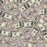 Pile of two dollar bills Royalty Free Stock Image