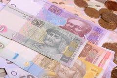 Pile of Ukrainian money Royalty Free Stock Image
