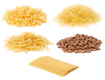 Pile of Uncooked Pasta Stock Images