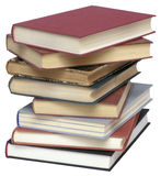 Pile of Used Books Stock Image
