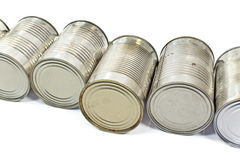 Pile of used cans Royalty Free Stock Photography
