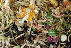 Pile végétale de compost Photos libres de droits