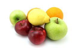 Pile of various fruits Stock Images