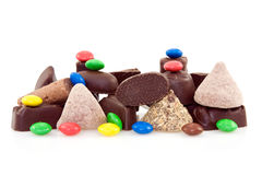 Pile of various sweets Royalty Free Stock Photos