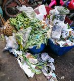 Pile of vegetable throw away as garbage. Stock Photography