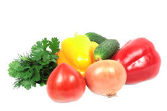 Pile of vegetables. Royalty Free Stock Photo