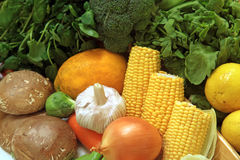 Pile of Vegetables Stock Photos