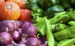 A pile of vegetables Royalty Free Stock Image