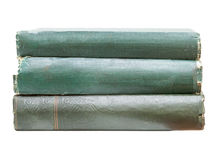 Pile of very old books Royalty Free Stock Images