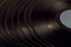 A pile of vinyl Stock Photography